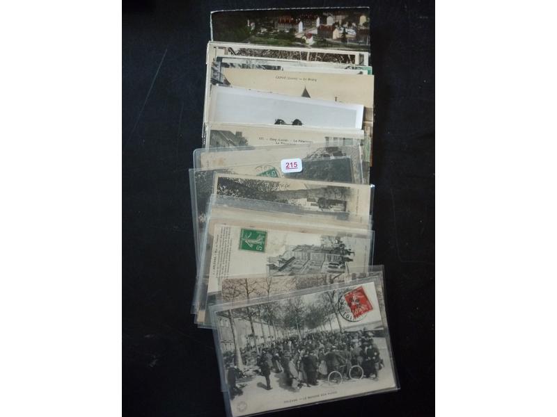 1 lot de 36 cartes postales anciennes du Loiret - Hôtel des ventes d'Avignon